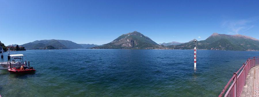 Le lac de Côme vu de Varenna