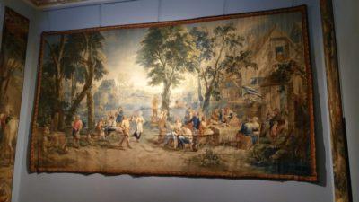 Tapisserie dans la villa Carlotta - Tremezzo