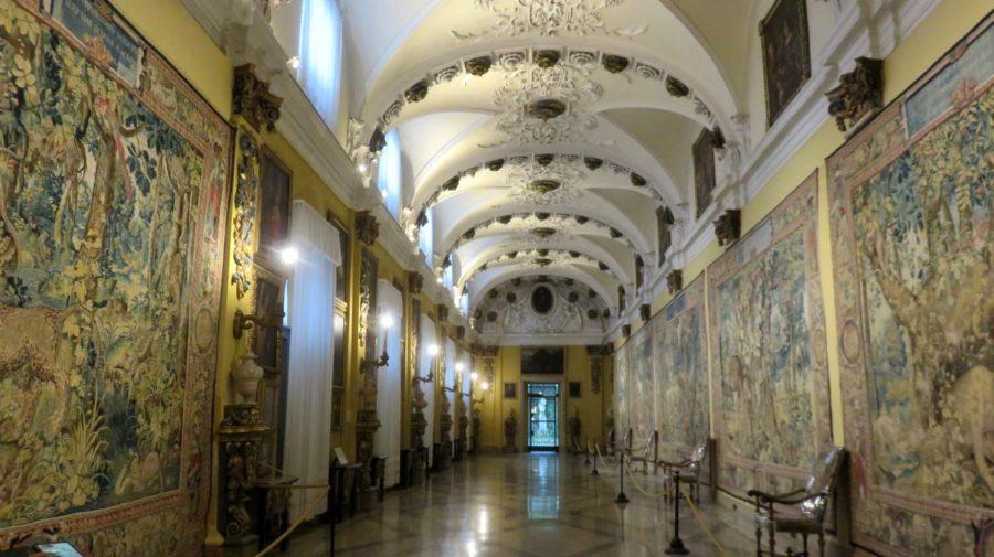 Tapisseries dans le palais d'Isola Bella (îles Borromées)