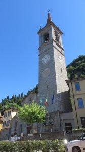 L'église St Georges de Varenna - lac de Côme