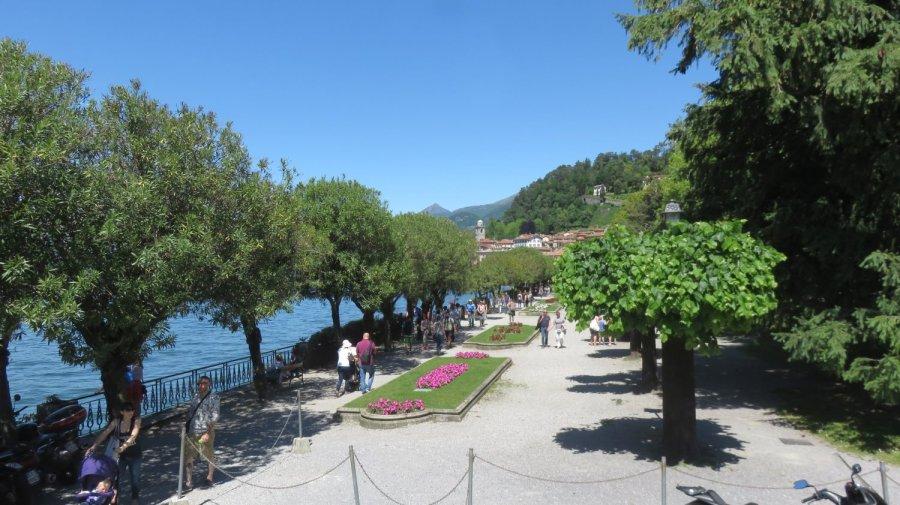 Le bord du lac de Côme - Bellagio