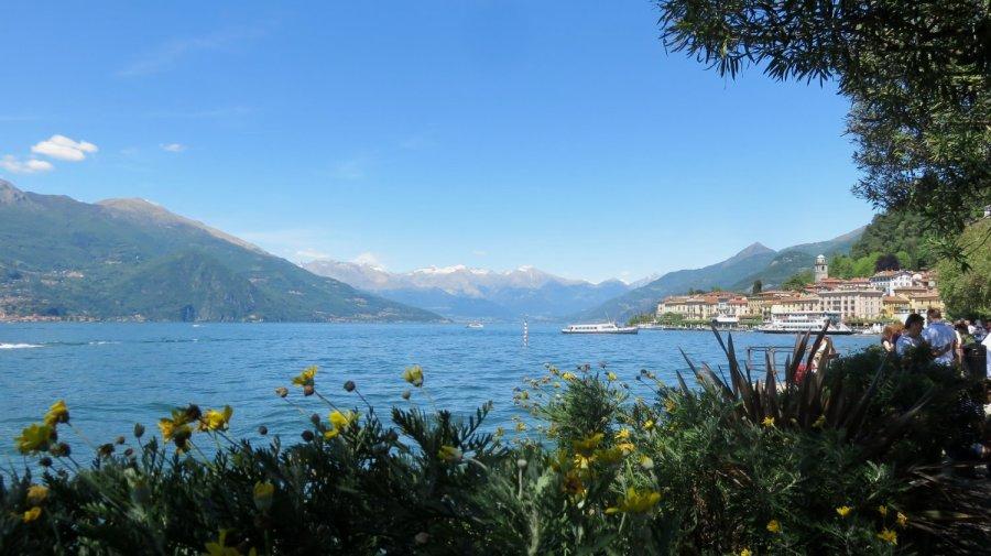 Vue sur Bellagio et le lac de Côme