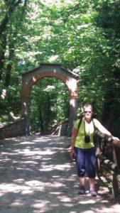 L'entrée du sanctuaire Della Ceriola sur Monte Isola