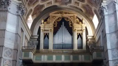 Les orgues de l'église St André de Mantoue