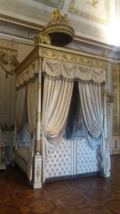 La chambre dans le palais ducal de Mantoue