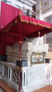 Les reliques de Ste Euphémie à Rovinj