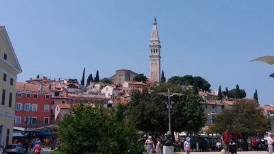 Rovinj dominée par son campanile