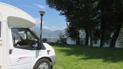 Arrêt déjeuner au bord du lac Di Garlate