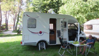 Au camping Quai d'Iseo