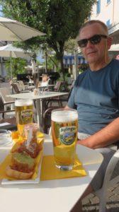 Petite bière en terrasse à Iseo