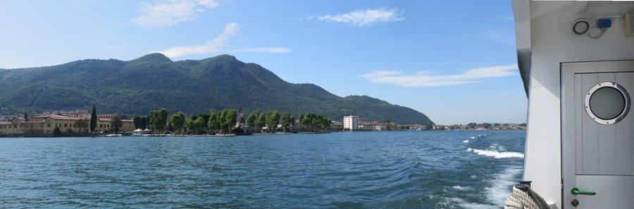 Iseo vue de Monte Isola