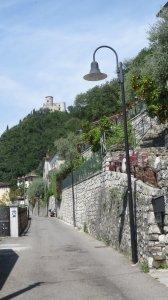 Les routes étroites de Monte Isola