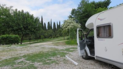 Aire ce camping-car Paradiso à Salo