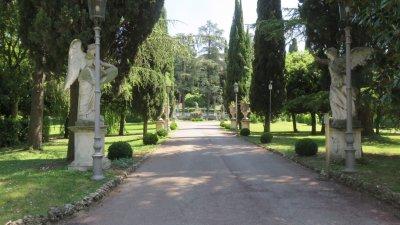 Le jardin de la maison de Maria Callas à Sirmione