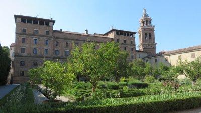 Les jardins du palais ducal de Mantoue