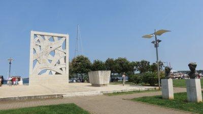 Monument commémoratif de la 2ème guerre mondiale à Rovinj