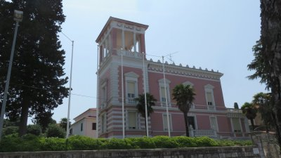 Belle demeure baroque de Rovinj