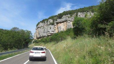 Sur la route entre Rovinj et Vrsar