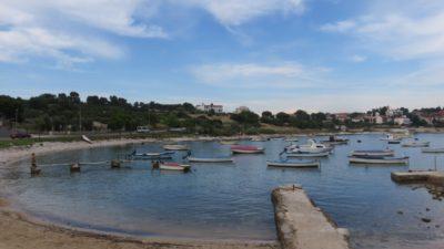 Bord de mer au camping Arena Stoja de Pula