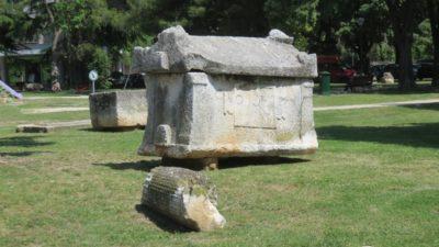 Sarcophages à Pula