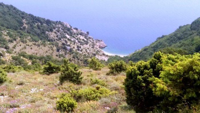 Vue depuis Beli sur l'île de Cres