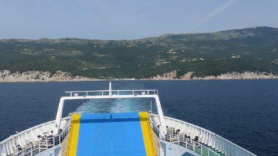 Nous quittons Brestova pour l'île de Cres