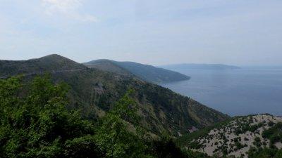 Le long de l'île de Cres (Croatie)