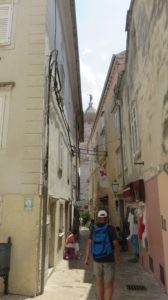 Les venelles de Krk (Croatie)