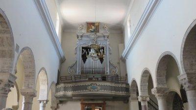 Les orgues de la cathédrale de l'Assomption de Krk (Croatie)