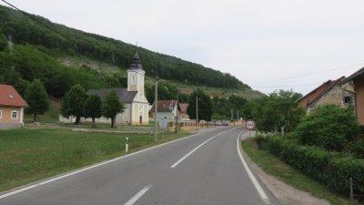 Sur la route entre Senj et Korenica (Croatie)