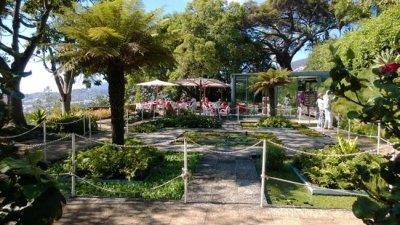 L'entrée du jardin botanique de Funchal - Madère