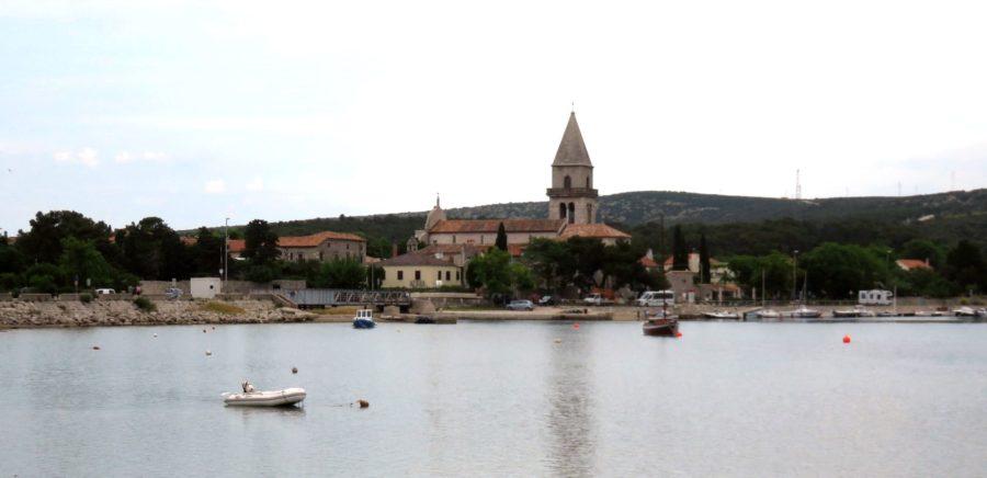 Osor - Le pont entre les îles de Cres et Losinj (Croatie)