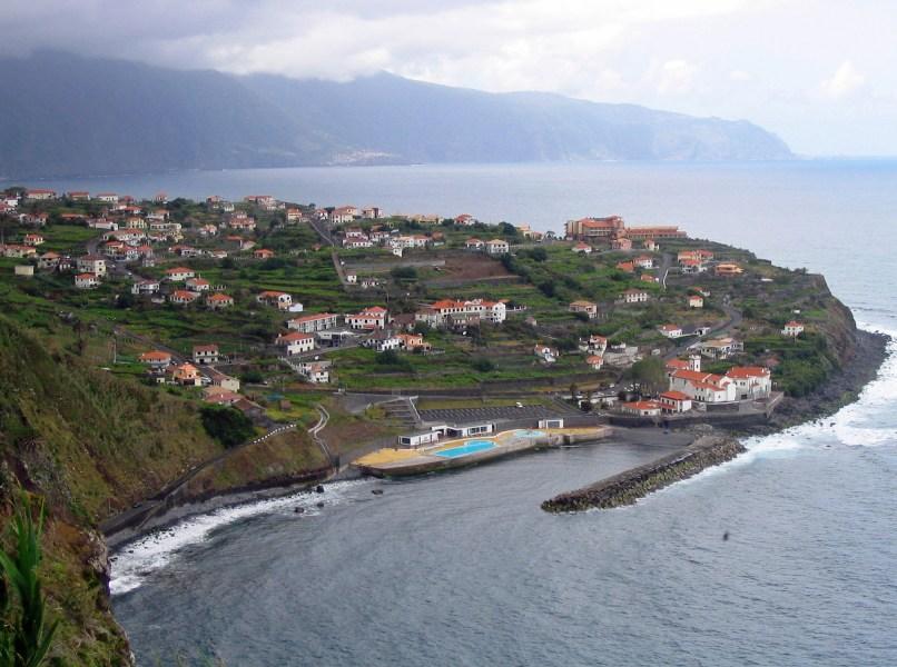 Vue sur Ponta Delgada - Madère