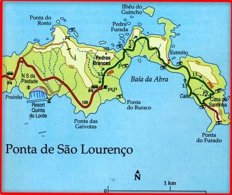 Ponta de Sao Lourenço (Madère)