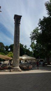 Colonne romaine à Zadar