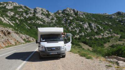 Petit arrêt avant d'arriver à Zadar