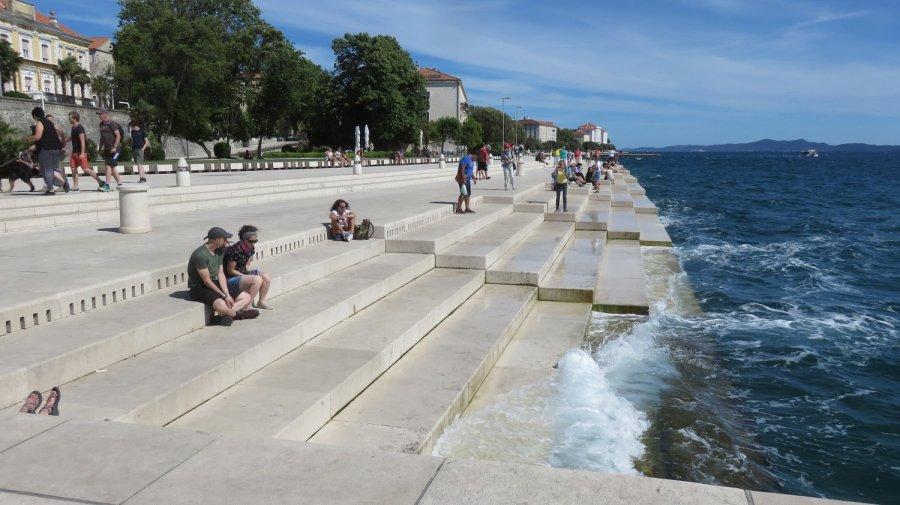 L'orgue marin de Zadar
