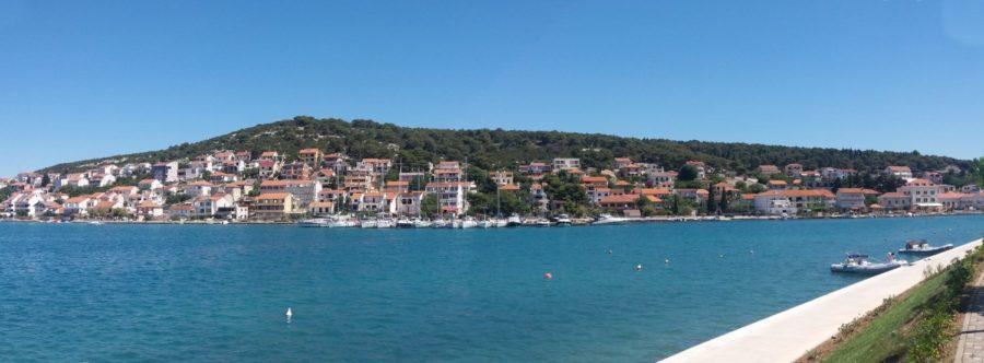 Sur l'île de Murter (Croatie)