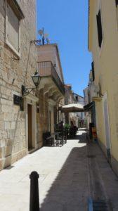Les ruelles de Tisno (Croatie)