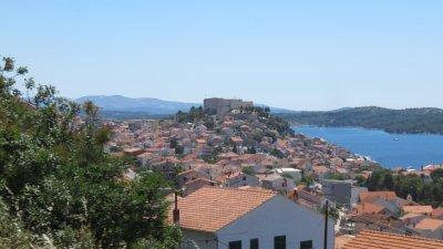 Le château de Sibenik (Croatie)