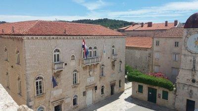 L'hôtel de ville de Trogir