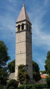 le Campanile de l'ancien monastère des Bénédictins - Split