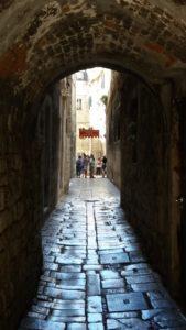 Dans les ruelles de Split