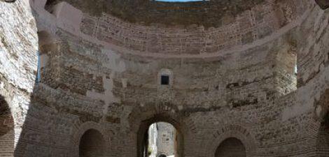 Arcades dans le palais de Dioclétien - Split