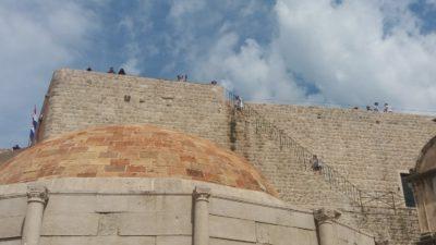 Les remparts de la ville - Dubrovnik