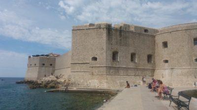 Les murs de la forteresse St Jean - Dubrovnik