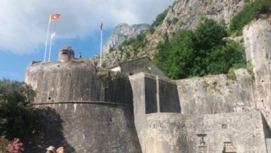 Les fortifications de Kotor - Monténégro