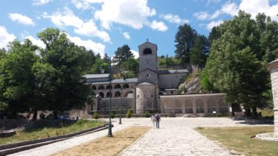 Le monastère orthodoxe de Cetinje - Monténégro