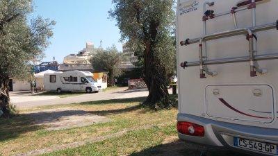 Au camping Avala de Budva - Monténégro