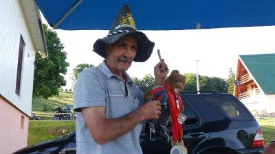 Le sympathique patron de l'Auto camp de Mlinsky Potok - Zabljak (Monténégro)
